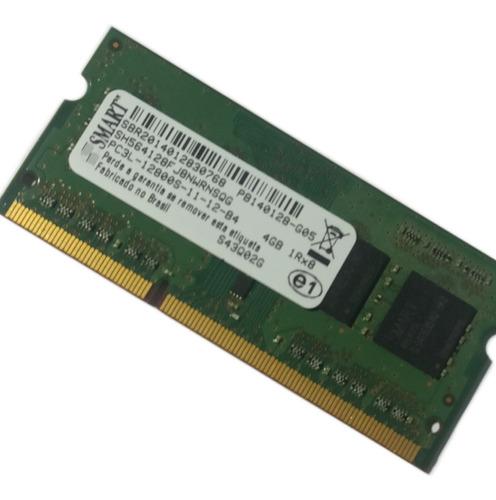 Imagem 1 de 3 de Memória Ram Smart 4gb Ddr3 Para Notebook Lenovo G400s