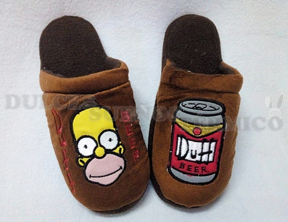 Pantuflas Homero Simpson - Duff - Beer