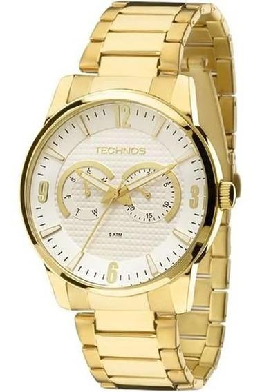Relógio Technos Masculino Classic Grandtech 6p25an/4k