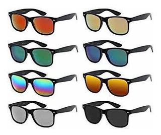 8 Paquetes De Gafas De Sol Unisex Para Hombres Y Mujeres (ad