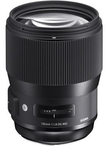 Sigma 135mm F/1.8 Dg Hsm Art Lente P/ Canon Nikon 135