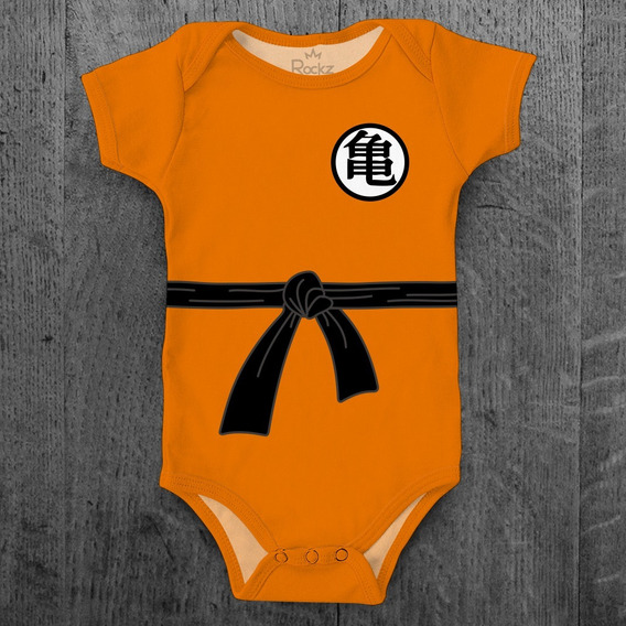 Body Bebê Dragon Ball Z Goku Kakaroto Super Saiyajin