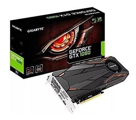 Placa De Video Gigabyte Geforce Gtx 1080 Turbo Oc 8g
