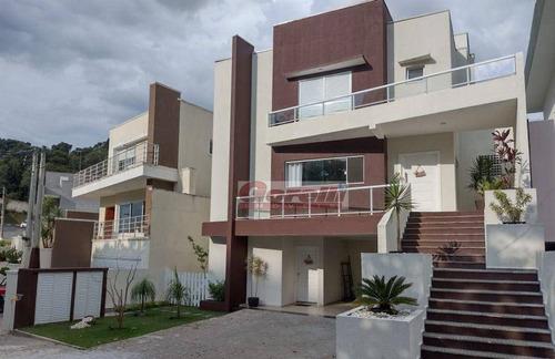Casa Com 6 Dormitórios À Venda, 400 M² Por R$ 1.800.000,00 - Condomínio Arujá Ville Ii - Arujá/sp - Ca1663