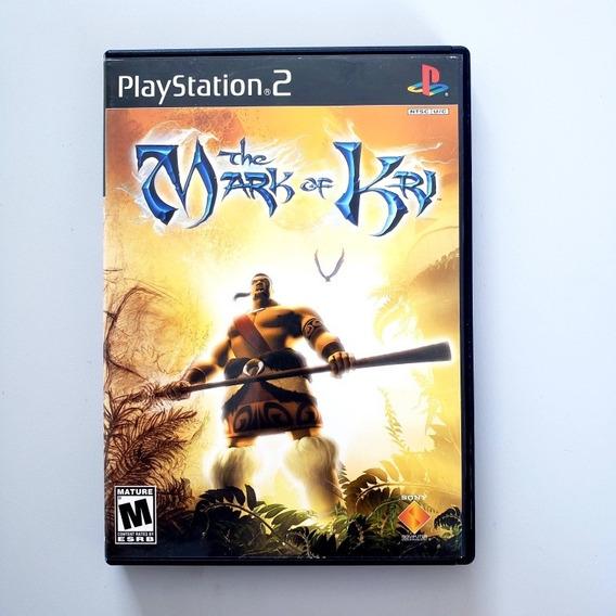 The Mark Of Kri Original Ps2 Playstation 2 Midia Física