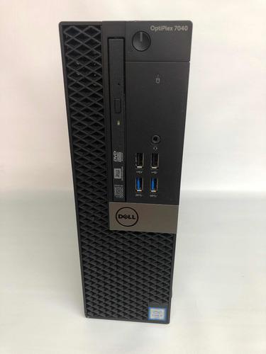 Desktop Dell Optiplex 7040 Core I5 6ger. 8gb Ddr4 Hd Ssd 240