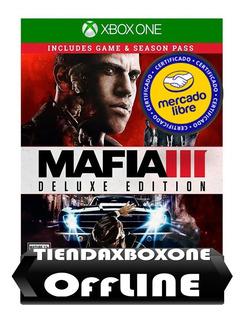 Oferta:::mafia 3 Deluxe Edition Xbox One Modo Offline