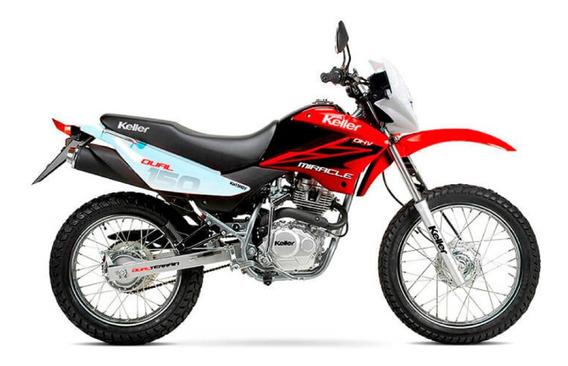 Moto Keller Miracle 150 Evo Cross 2 Años Garantia