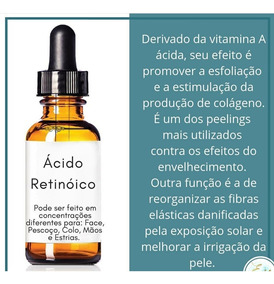 Acido Retinoico 10 Ml (40%) + Acido Tca ( Brinde ) 35% 5 Ml