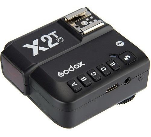 Imagem 1 de 10 de Transmissor Radio Flash Godox X2t-c Ttl Canon 12x S/juros