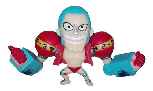 Figura Franky 5cm One Piece Anime Coleccion Regalo Navidad