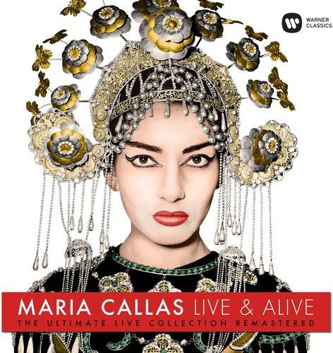 Vinilo Live & Alive Ultimate Live Collection Maria Callas