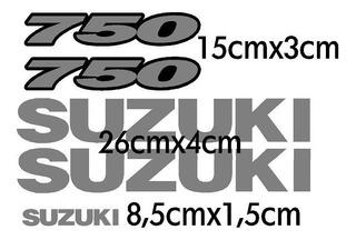 Kit Adesivo Gsx 750f Suzuki Gsx750 Gsx750f Spoiler Rabeta