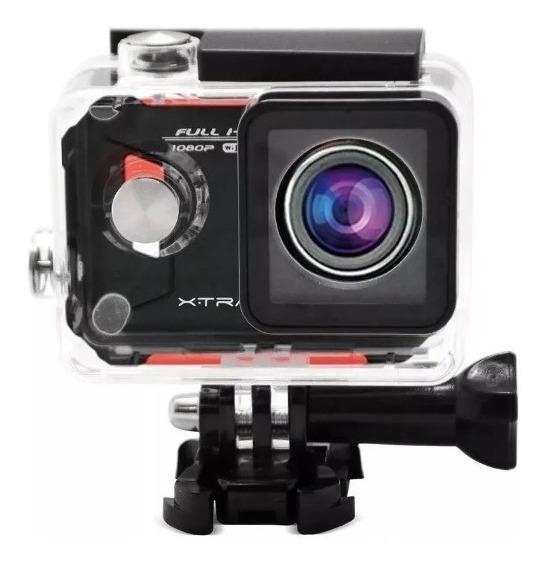 Câmera De Ação Aventura Sport Xtrax Evo Full Hd 12mp Wifi