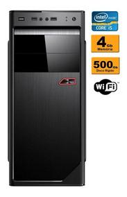 Cpu Desktop Intel Core I5 3.1ghz 4gb Ddr3 Hd 500gb C/ Wifi