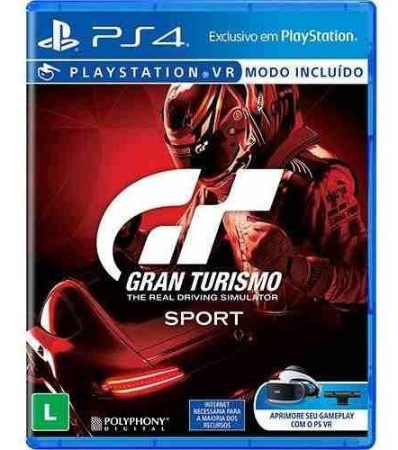 Gran Turismo Sport - Ps4 Mídia Física