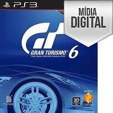 Gran Turismo 6 Ps3 Midia Digital