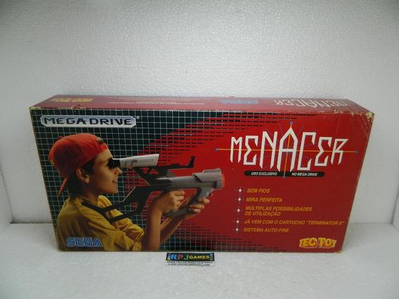 Bazooka Menacer Na Caixa C/ Jogo Original Terminator 2 Loja