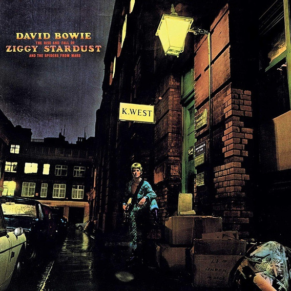 David Bowie Ziggy Stardust Cd Nuevo Cerrado Stock Original
