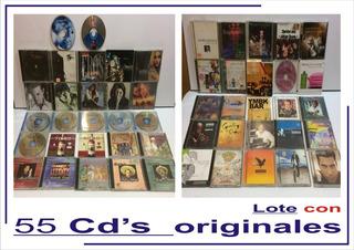 Lote Con 55 Cds Originales
