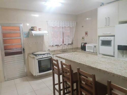 Sobrado À Venda, 146 M² Por R$ 620.000,00 - Campestre - Santo André/sp - So3872