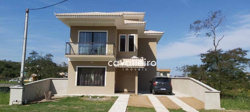 Casa Com 3 Dormitórios À Venda, 160 M² Por R$ 600.000,00 - Inoã - Maricá/rj - Ca3263