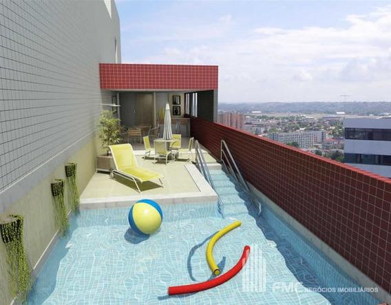 Apartamento Flat Com 1 Quarto No Edf. Studio Parnamirim - Vd1072-v