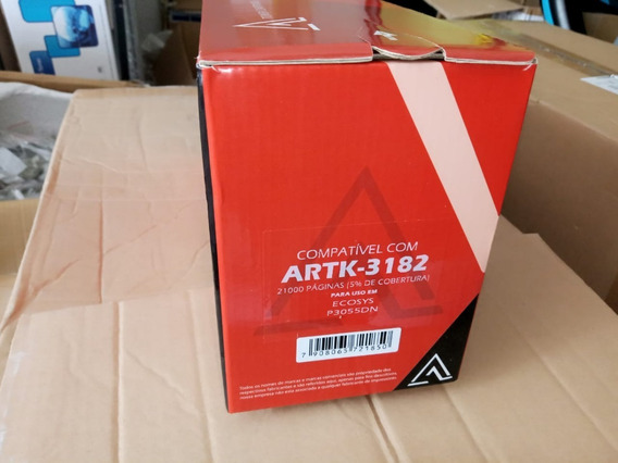 Toner Tk3182 Compativel 21k Kyocera P3055 10 Unidades