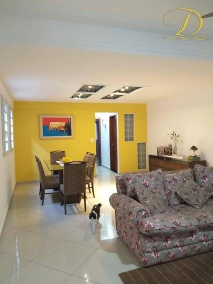 Casa De 3 Quartos, Sacada E Churrasqueira No Boqueirão, Praia Grande, Aceita Financiamento Bancário!!! - So0095