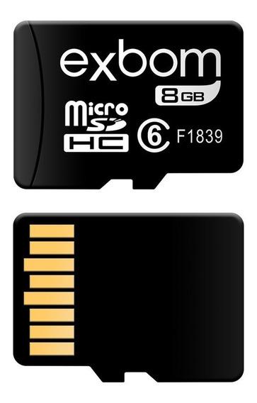 Cartão De Memória 8g Micro-sd(tf) 10mbs - Stgd-tf08g - Exbom