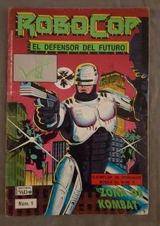 Historieta Robocop El Defensor Del Futuro Editorial Vid