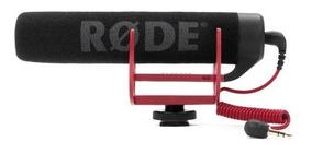 Microfone Rode Videomic Go Com Sistema Rycote Garantia Sjuro