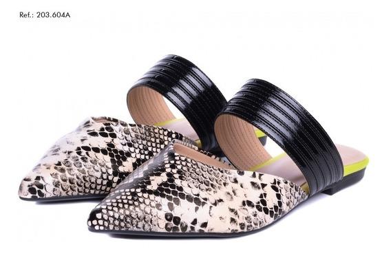 Sapato Feminino Mule Torricella Ultra Confortável Lançamento