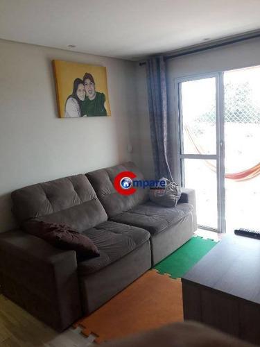 Imagem 1 de 29 de Apartamento Com 2 Dormitórios À Venda, 52 M² Por R$ 265.000,00 - Jardim Do Triunfo - Guarulhos/sp - Ap9677