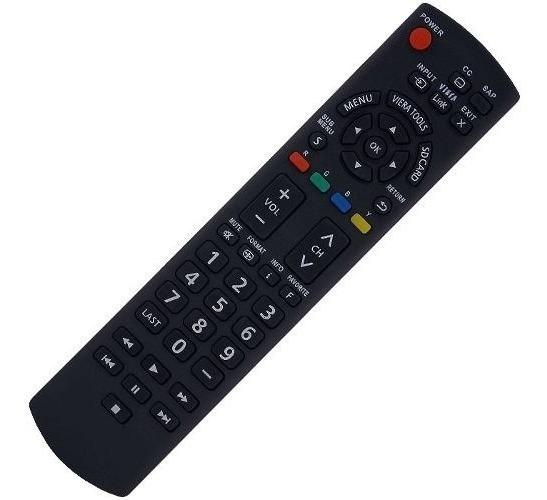 Controle Remoto Tv Lcd E Plasma Panasonic Linha Viera