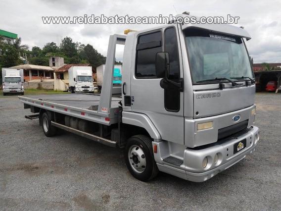 Ford Cargo 815 E Plataforma Guincho Maki 2017 Impecável