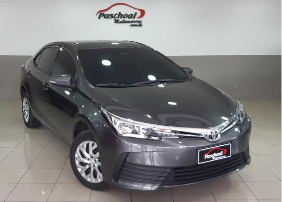 Toyota Corolla 1.8 16v Gli Flex 4p 2018 Sem Entrada