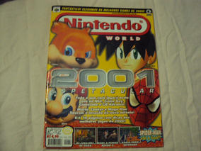 Revista Nintendo World Janeiro 2001 Número 29 Capa 2001