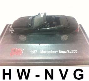 Malibu 1:87 Mercedes Benz Sl500 Escala Ho