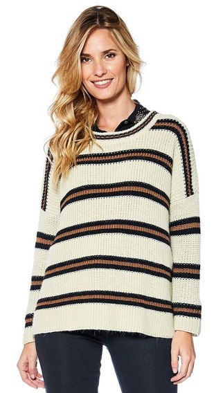 Sweater Vancouver Mirta Armesto Mujer Lana Redondo