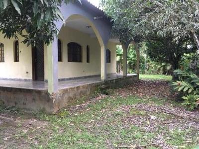 Excelente Chácara No Jardim Aguapeú, Em Itanhaém, Ref 4745