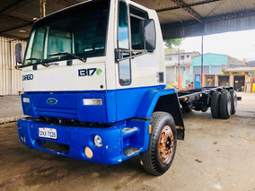 Ford Cargo 1317 Ano 2008 Truck Chassi (58 Mil Km Originais)