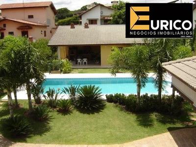 Casa Para Venda E Locação No Condomínio Vista Alegre Em Vinhedo/sp. - Ca01585 - 34053823