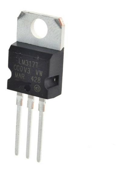 10 Pcs Lm317t Lm317 Regulador De Tensão 1.2v A 37v 1.5a