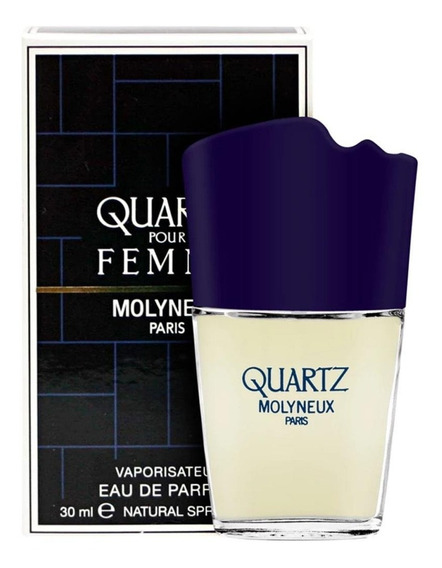 Quartz Pour Femme Edp 30ml Feminino + Amostra De Brinde