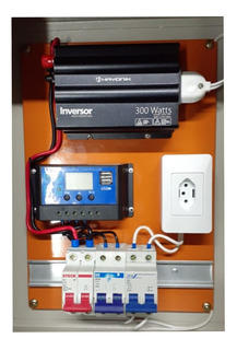 Kit Gerador Energia Painel Solar Offgrid Placa Principal
