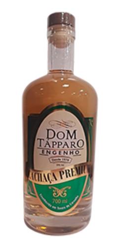 Imagem 1 de 2 de Cachaça  Premium 3 Anos Carvalho Dom Tápparo  700 Ml