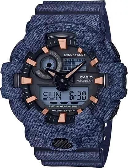 Relógio Casio G-shock Ga-700de-2a Original + Frete Grátis
