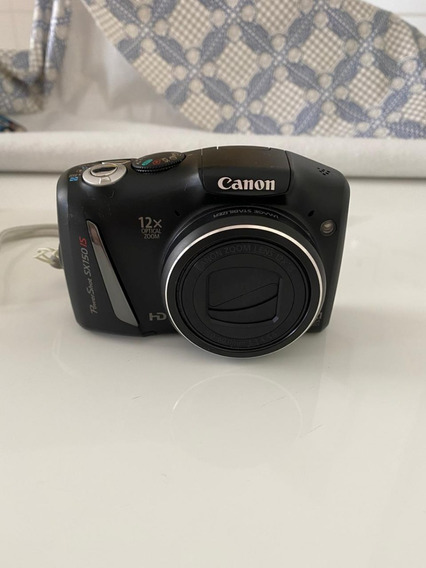 Câmera Canon Powershot Sx150 Is (preta)