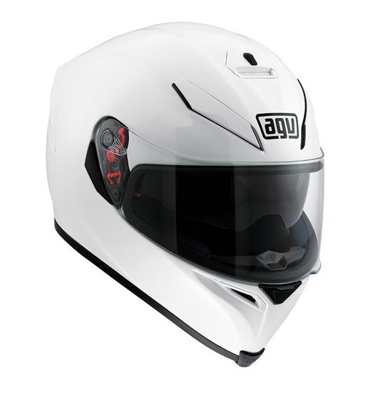 Casco Agv K3 Sv Ece Integral Blanco Automoto Lanus